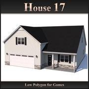 Low Polygon House 17 3d model