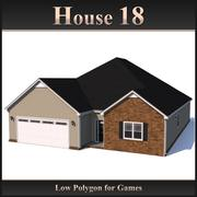 Low Polygon House 18 modelo 3d