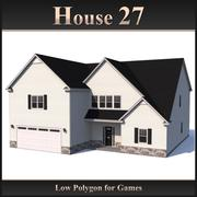 Low Polygon House 27 modelo 3d