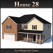 Low Polygon House 28 modelo 3d