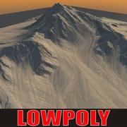 Lowpoly Mountain MtnN3 3d model