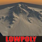 Lowpoly Mountain MtnN5 3d model
