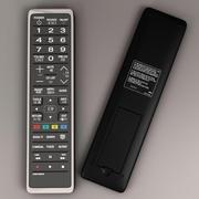 télécommande de la télé 3d model