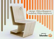 chaise 3d model