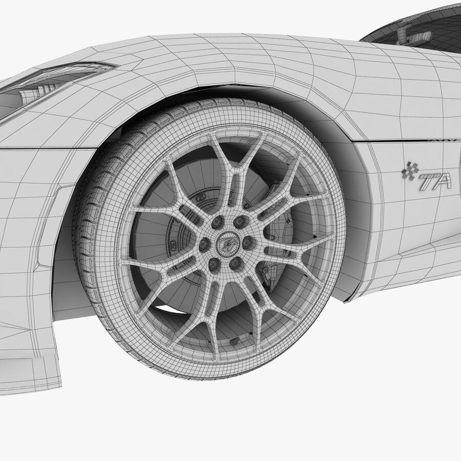 Dodge viper TA 2013 royalty-free 3d model - Preview no. 12