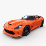 Dodge viper TA 2013 3d model