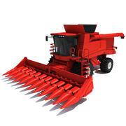 Combine Harvester V3 3d model