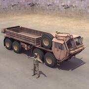 M985 HEMTT Sürücüsü 3d model
