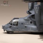 V-22 Osprey USAF 3d model