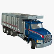 Mack CH Dumper 3d model