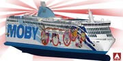 Moby Lines - Аки 3d model