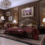 Dormitorio Real HENRI IV modelo 3d