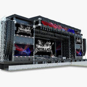 メガステージ-ライブセット 3d model