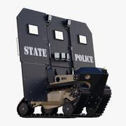 로봇 탄도 방패 RBS1 3d model