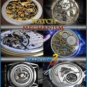 Mécanisme de montre coll 3 3d model