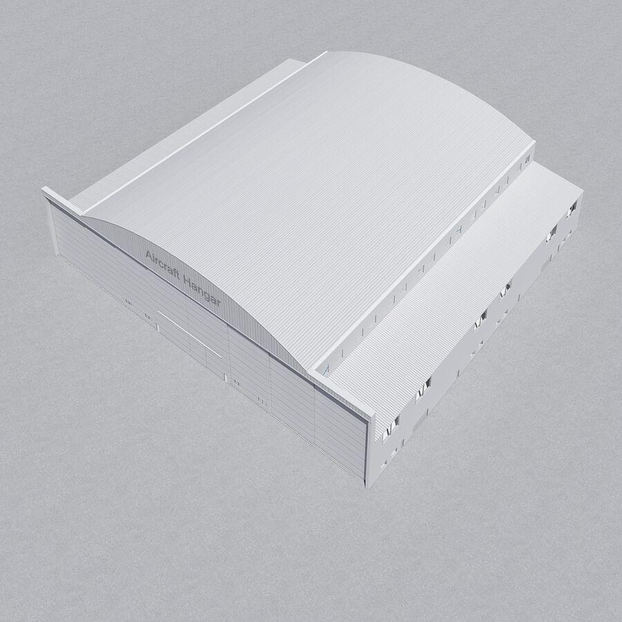 Ангар для самолетов 01 royalty-free 3d model - Preview no. 20