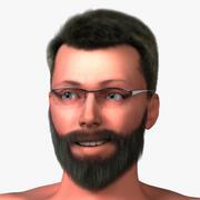 Corpo maschile caucasico 3d model