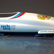 Sochi 2014 Bobsleigh 3d model