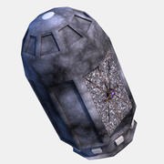 SciFi Escape Pod 3d model