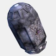 SciFi Escape Pod 3d model