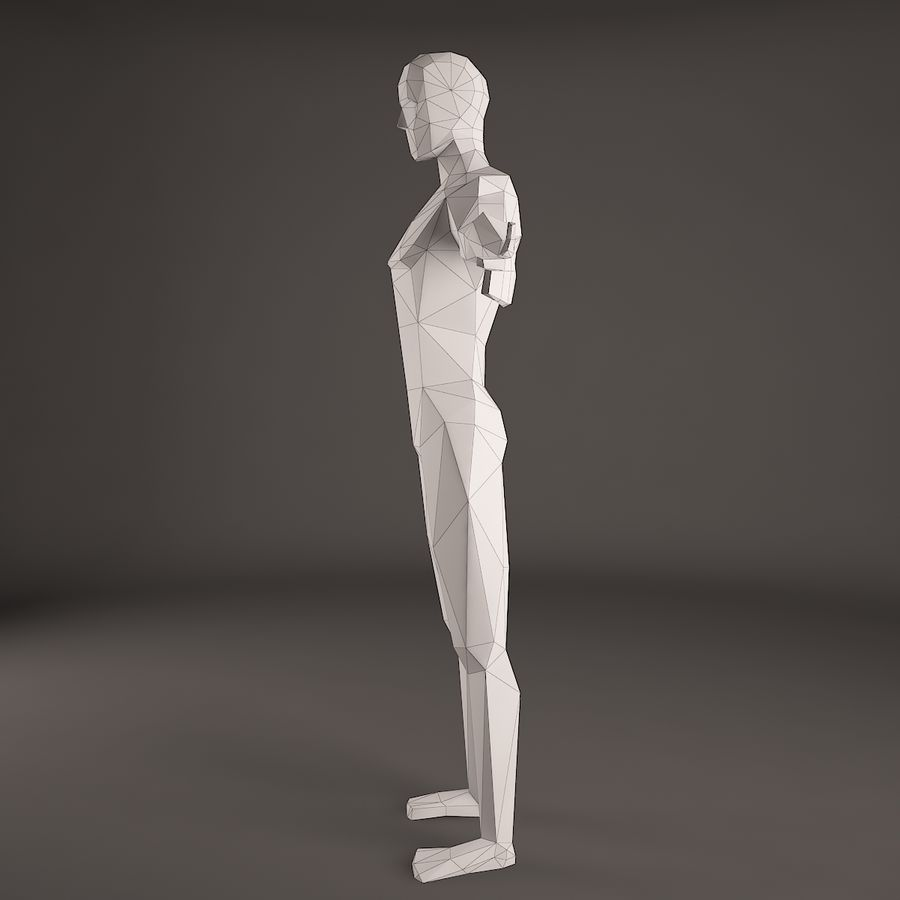 Man Figure royalty-free 3d model - Preview no. 6