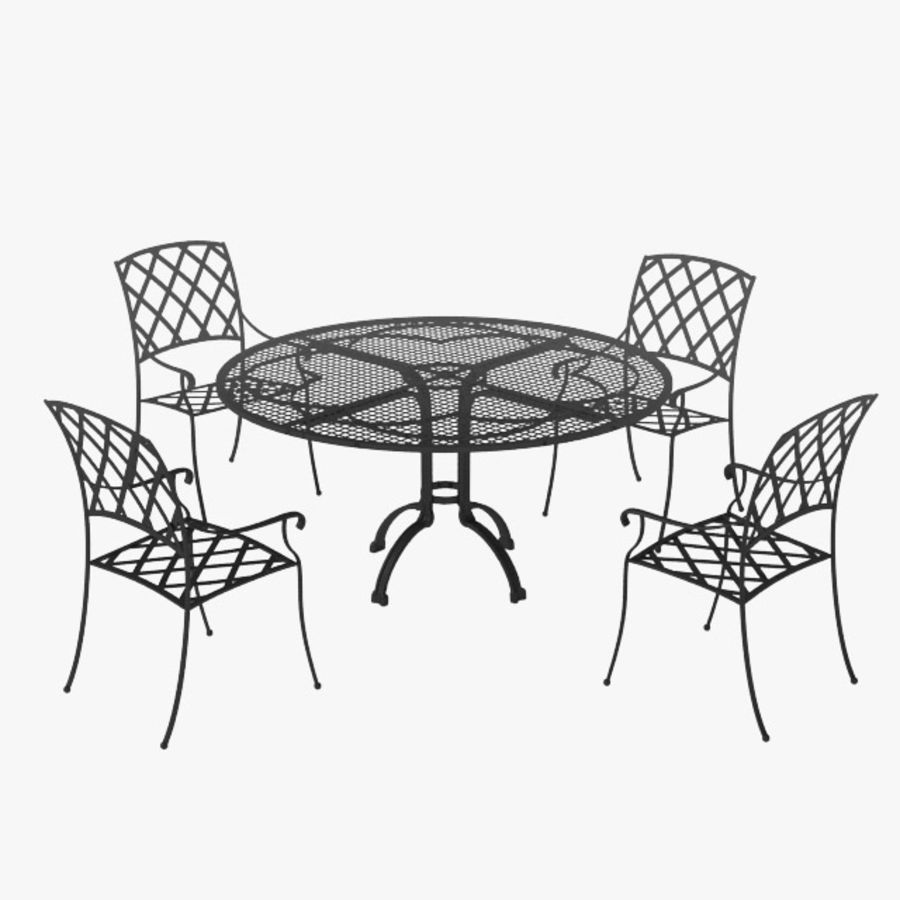 Garden furniture 3d model 15 max obj fbx 3ds free3d for Outdoor furniture 3d max