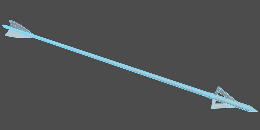 Arco, freccia royalty-free 3d model - Preview no. 6