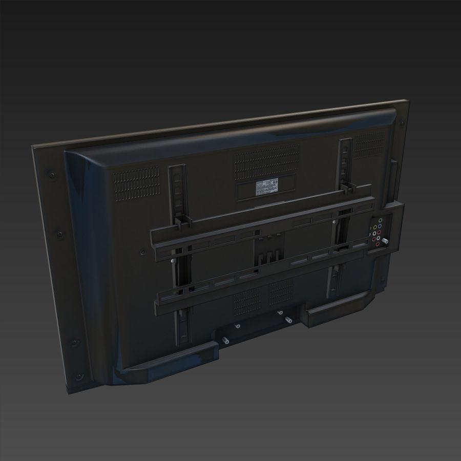 Flatscreen TV royalty-free 3d model - Preview no. 5
