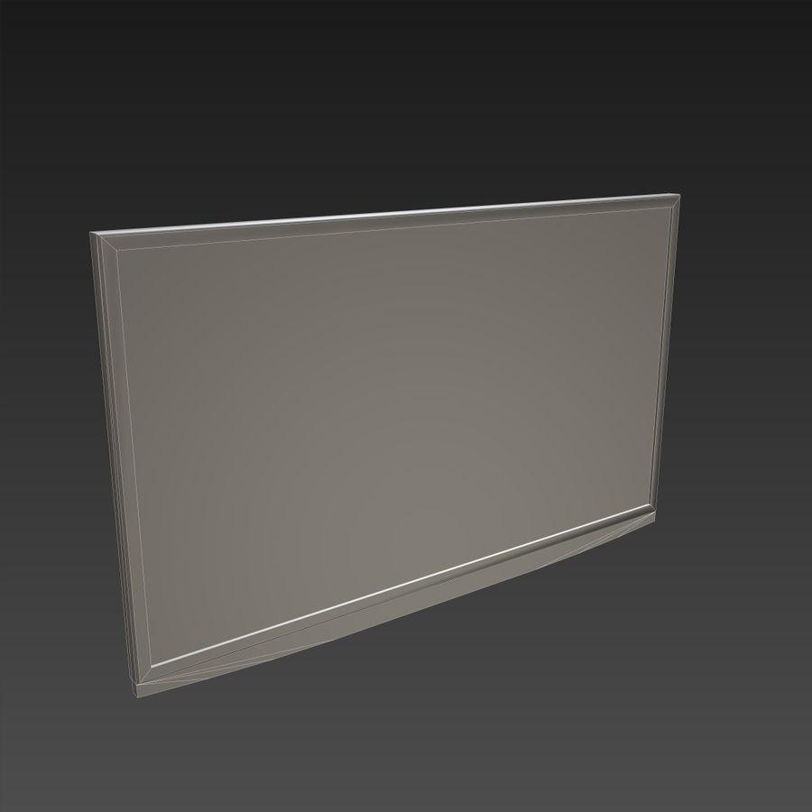 Flatscreen TV royalty-free 3d model - Preview no. 11