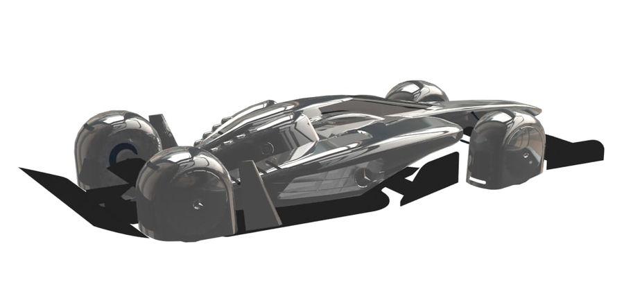 Концепт гоночного автомобиля royalty-free 3d model - Preview no. 10
