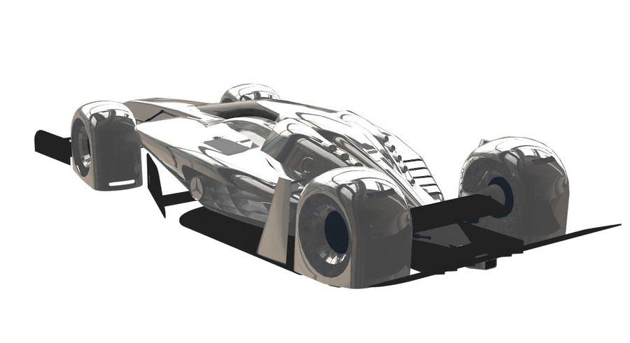 Концепт гоночного автомобиля royalty-free 3d model - Preview no. 1