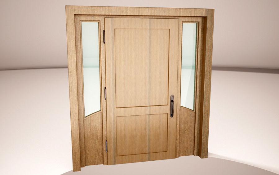 deuren royalty-free 3d model - Preview no. 4