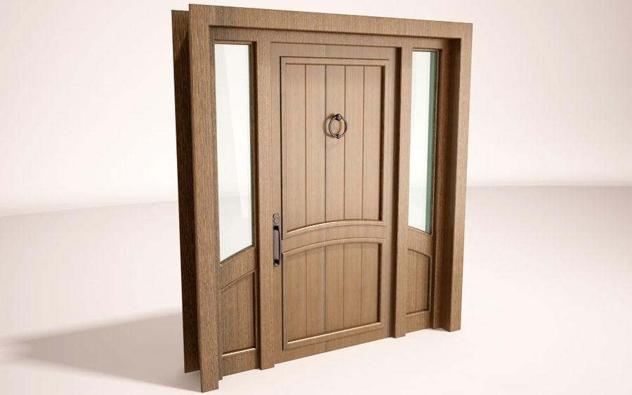 deuren royalty-free 3d model - Preview no. 3