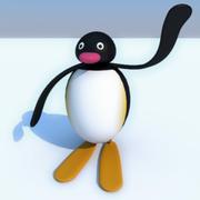 企鹅家族 3d model