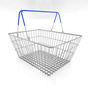 Shopping Basket Full 3D 3d model