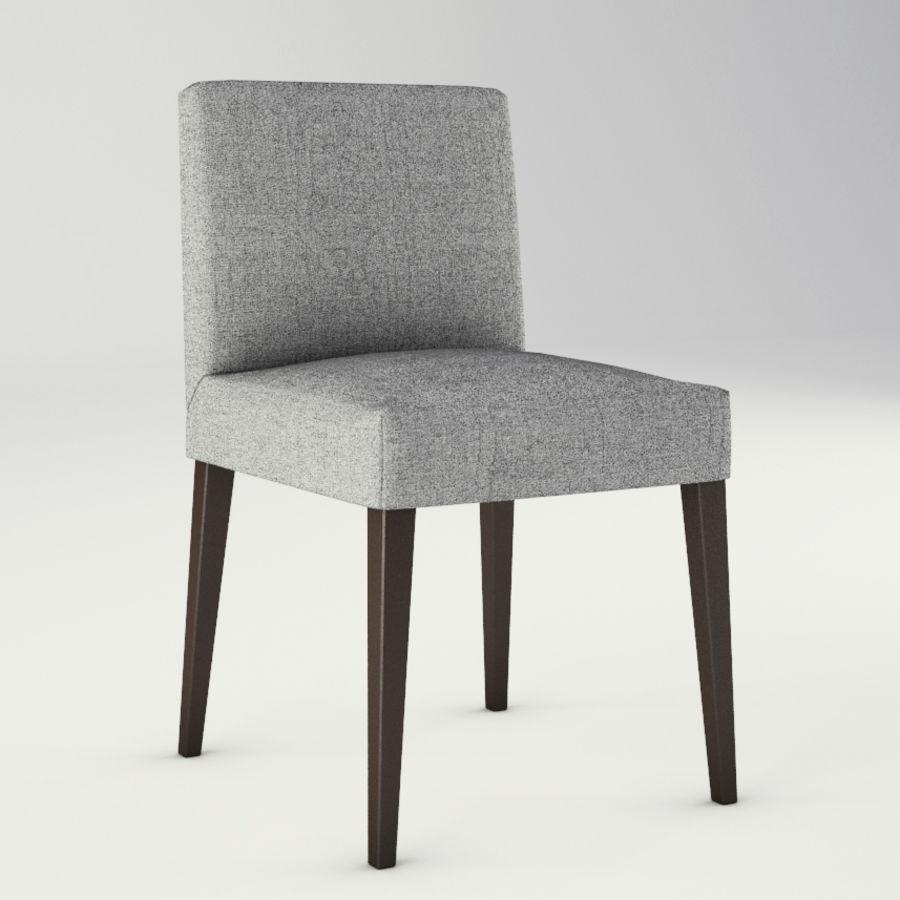 Lounge zachte stoelen en meubels royalty-free 3d model - Preview no. 8