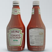 Кетчуп Бутылка 2 3d model