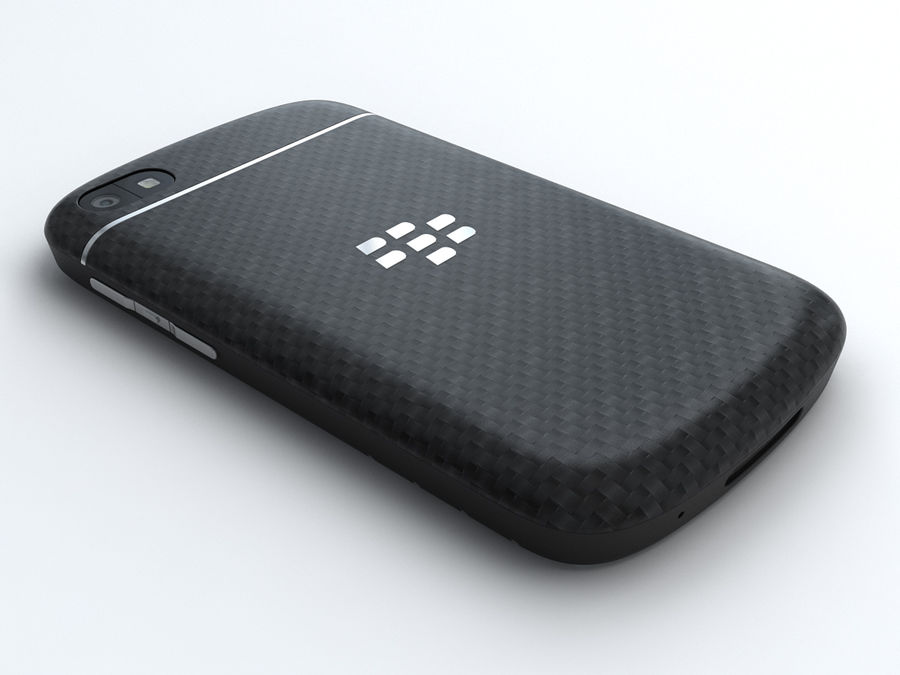 BlackBerry Q10 royalty-free 3d model - Preview no. 4