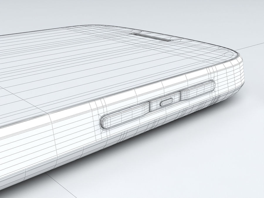 BlackBerry Q10 royalty-free 3d model - Preview no. 29