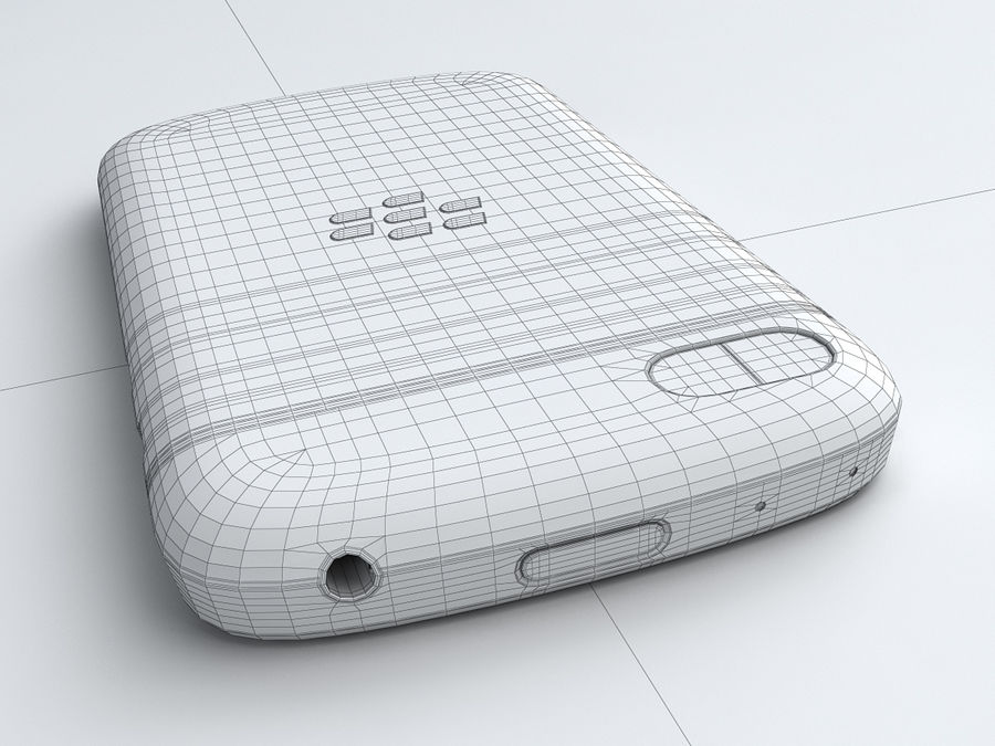 BlackBerry Q10 royalty-free 3d model - Preview no. 24