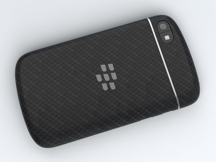 BlackBerry Q10 royalty-free 3d model - Preview no. 12