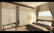 现代卧室 3d model