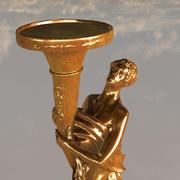 Złota Statua 3d model