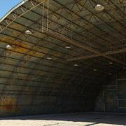 Hangar Military Old 3d model