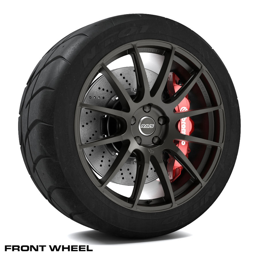 Volk Racing G12 royalty-free 3d model - Preview no. 2