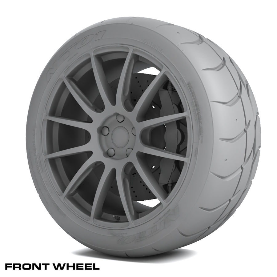 Volk Racing G12 royalty-free 3d model - Preview no. 10