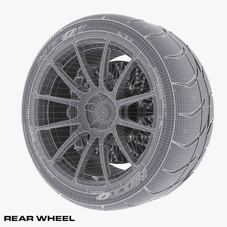 Volk Racing G12 royalty-free 3d model - Preview no. 15