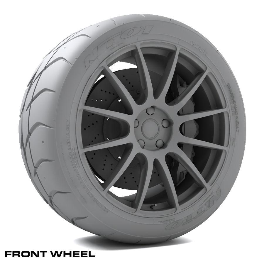 Volk Racing G12 royalty-free 3d model - Preview no. 8