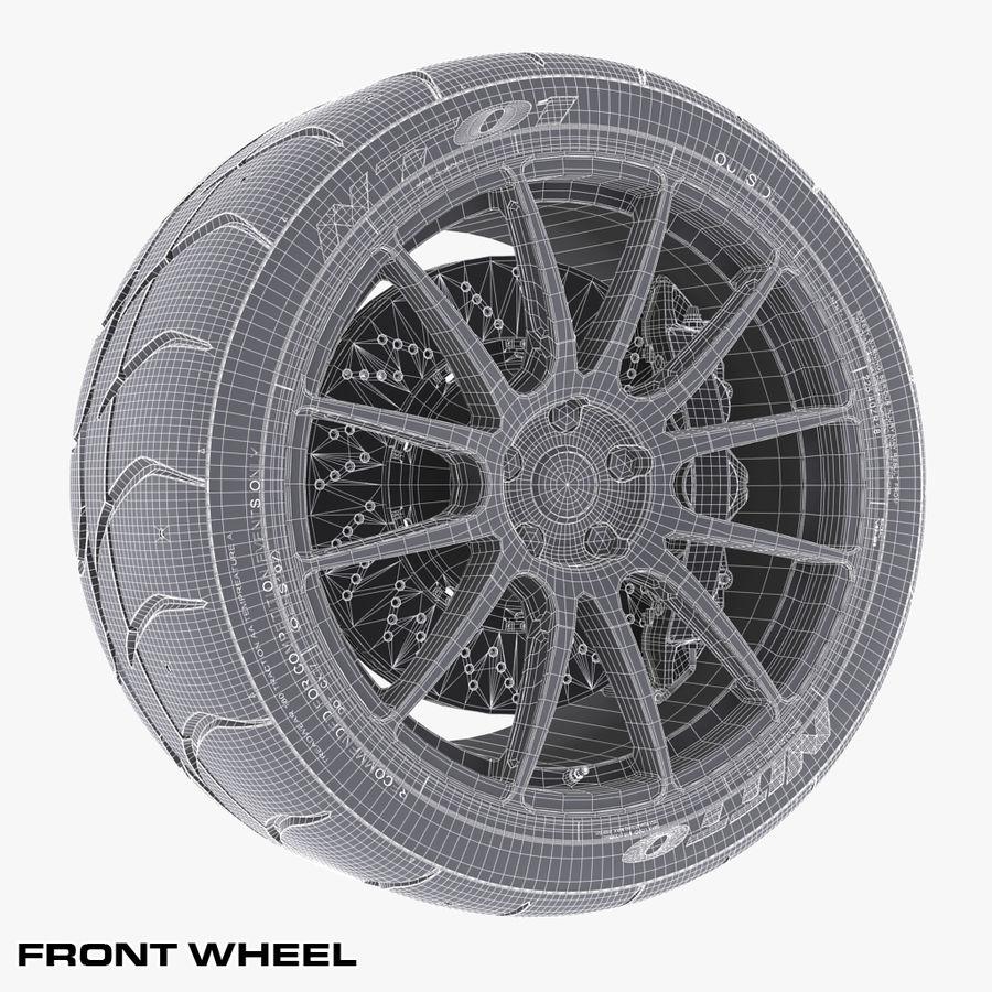 Volk Racing G12 royalty-free 3d model - Preview no. 9
