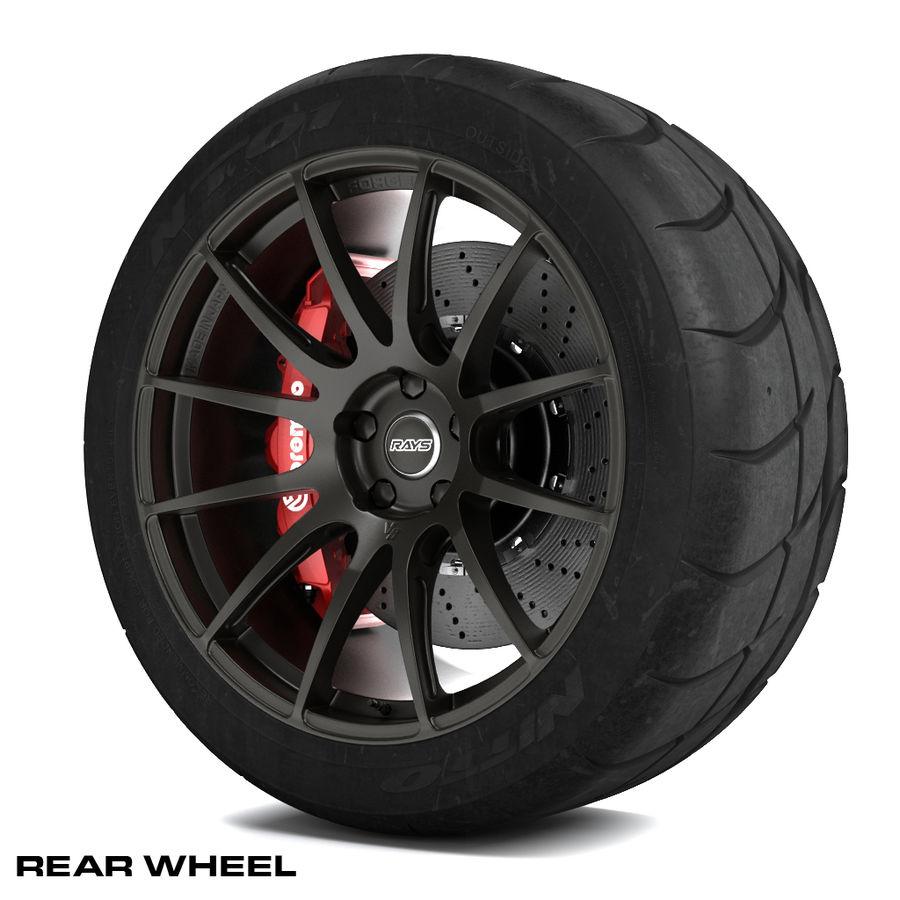 Volk Racing G12 royalty-free 3d model - Preview no. 5